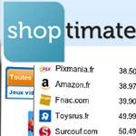 Comparez les prix instantanément avec Shoptimate