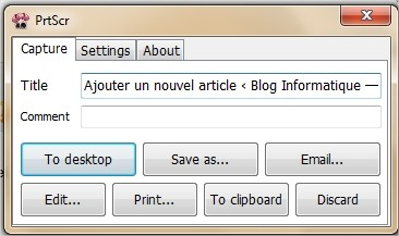 Le logiciel de capture ecran ultime it blog for Photo ecran logiciel