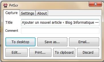 Le logiciel de capture ecran ultime it blog for Photo ecran logiciel