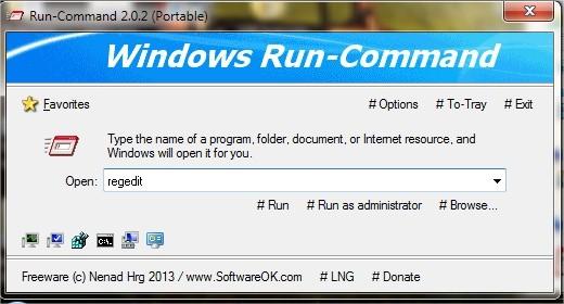 Les meilleurs logiciels 2013 Systeme - Run-Command