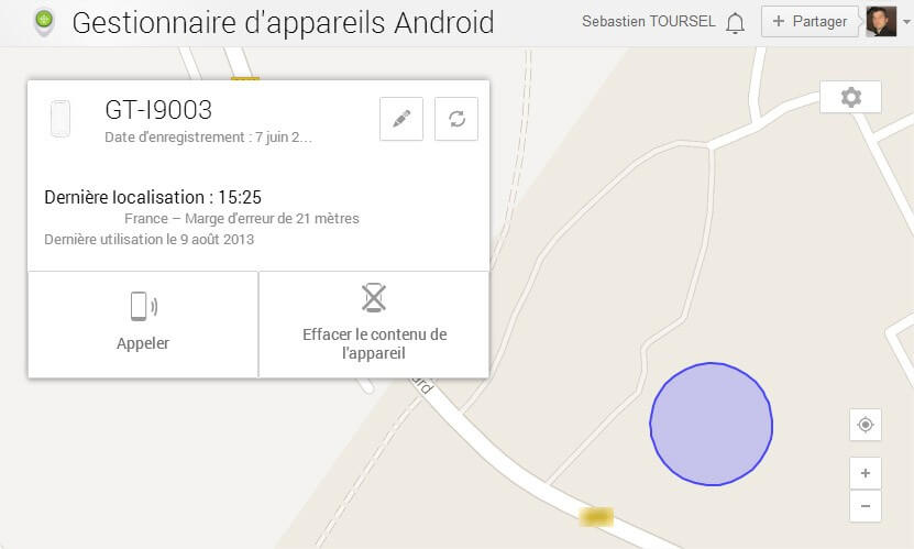 localiser votre smartphone avec android device manager it blog. Black Bedroom Furniture Sets. Home Design Ideas